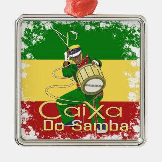 Caixa Batucada Samba Metal Ornament