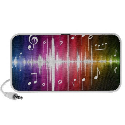 """Caixa de som """"Ondas sonoras"""" Caixinha De Som Para iPod"""
