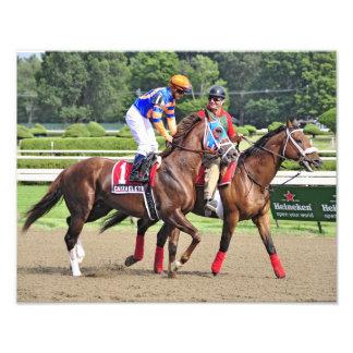 Caixa Eletronica at Saratoga Race Course Photo Print