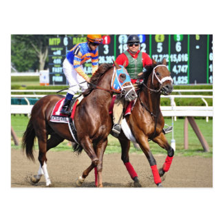 Caixa Eletronica- Saratoga Race Course Postcard