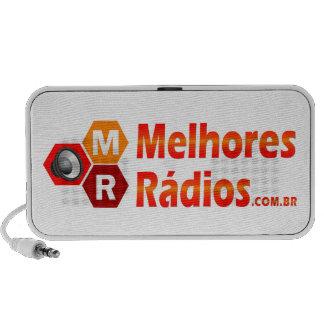 Caixinha de som do portal Melhores Rádios