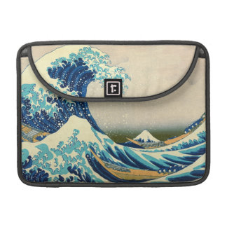 Caja 1829 de MacBook de la onda de Kanagawa Fundas Para Macbook Pro