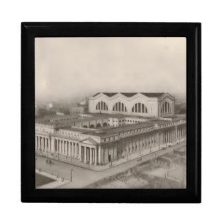 Caja 1912 de regalo de Nueva York de la estación d Caja De Recuerdo