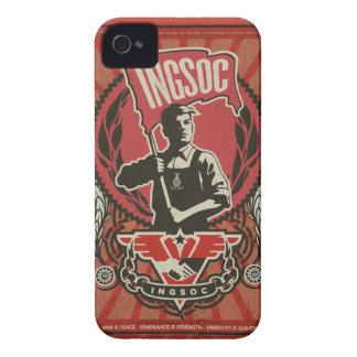 Caja 1984 de la casamata de Ingsoc iPhone 4 Carcasa