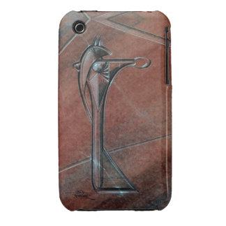 Caja #1 del teléfono móvil de STARGATE Anubis Case-Mate iPhone 3 Cobertura