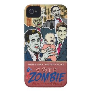 Caja 2012 de la casamata del zombi del voto iPhone 4 Case-Mate coberturas