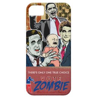Caja 2012 de la casamata del zombi del voto funda para iPhone 5 barely there