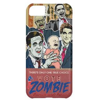 Caja 2012 de la casamata del zombi del voto funda para iPhone 5C