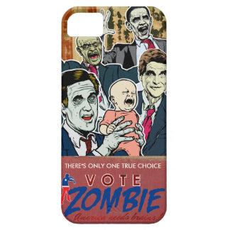 Caja 2012 de la casamata del zombi del voto funda para iPhone SE/5/5s