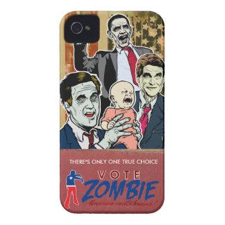 Caja 2012 de la casamata del zombi del voto iPhone 4 Case-Mate cárcasas