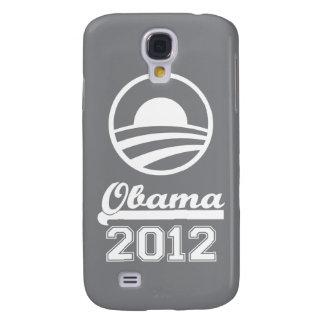 Caja 2012 de la mota del iPhone 3 de OBAMA (gris) Funda Samsung S4