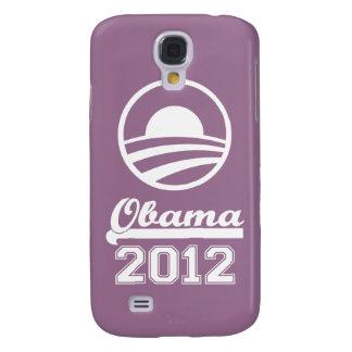 Caja 2012 de la mota del iPhone 3 de OBAMA (lavand Funda Para Galaxy S4