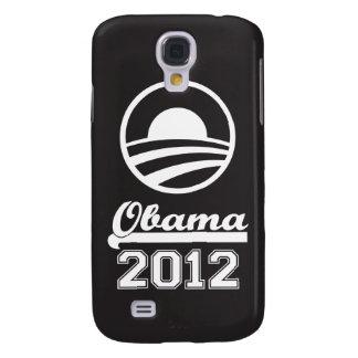 Caja 2012 de la mota del iPhone 3 de OBAMA (negro) Funda Para Samsung Galaxy S4