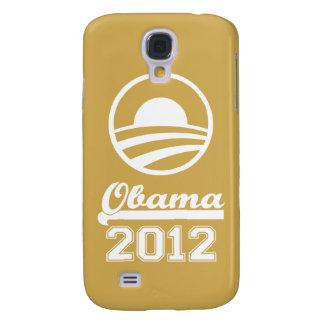 Caja 2012 de la mota del iPhone 3 de OBAMA (oro) Funda Samsung S4
