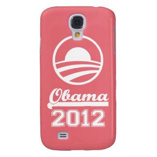 Caja 2012 de la mota del iPhone 3 de OBAMA (rosa d Carcasa Para Galaxy S4