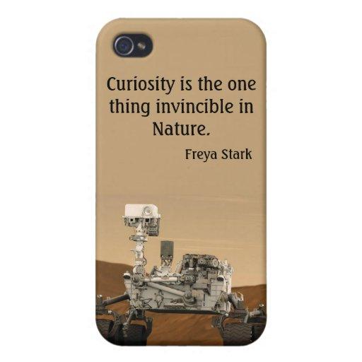 Caja 2012 de la mota del iPhone de la NASA de Mart iPhone 4 Cárcasa