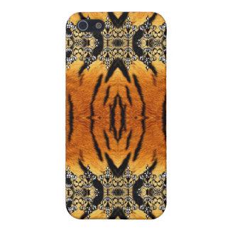 Caja #3 de la mota del estampado de animales iPhone 5 carcasas