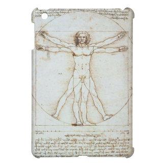 Caja 3 de la mota del hombre de Vitruvian