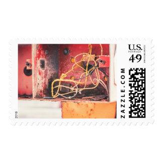Caja abandonada sello