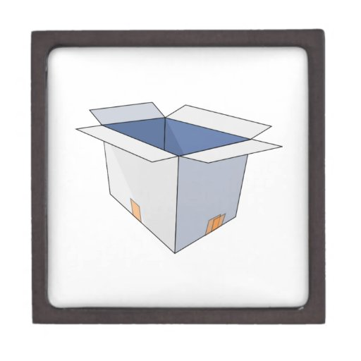 Caja abierta cajas de regalo de calidad