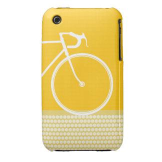 caja abstracta amarilla del iPhone 3 de la Case-Mate iPhone 3 Carcasa