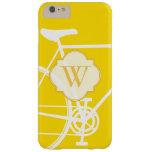 Caja abstracta amarilla del iPhone 6 de la Funda De iPhone 6 Plus Barely There
