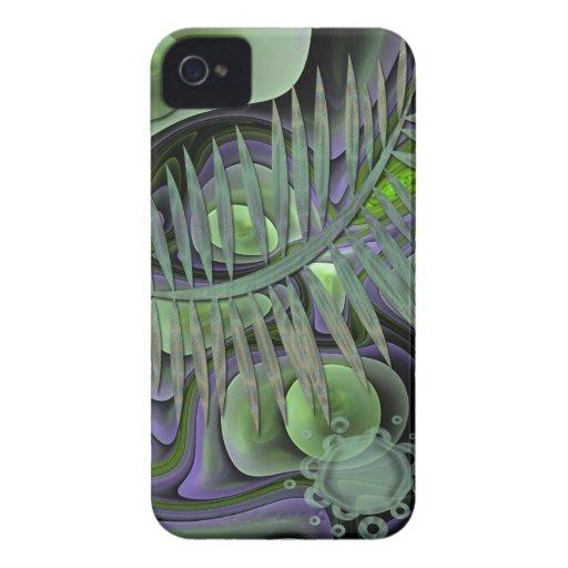 Caja abstracta artística de la casamata del iPhone iPhone 4 Case-Mate Carcasa