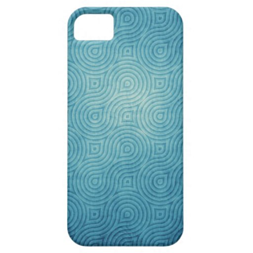 Caja abstracta azul del iPhone 5 iPhone 5 Cárcasas