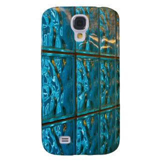 Caja abstracta azul para HTC teléfono vivo/del asa