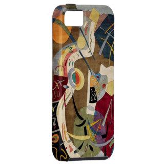 Caja abstracta colorida de la cubierta del iPhone iPhone 5 Protectores