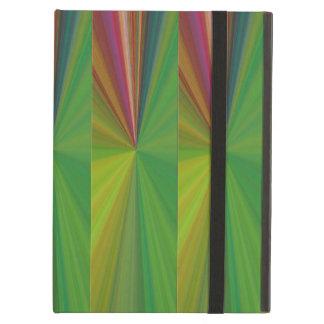 Caja abstracta de encargo del aire del iPad del