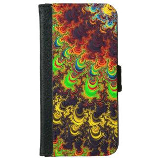 Caja abstracta de la cartera iPhone6 del fractal Carcasa De iPhone 6