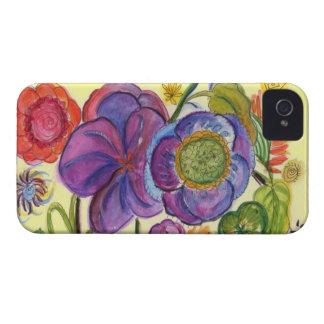 Caja abstracta de la casamata del teléfono 4 del iPhone 4 coberturas