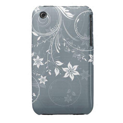 Caja abstracta de la curva de Blackberry del diseñ Case-Mate iPhone 3 Cobertura