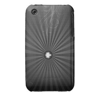Caja abstracta de la galaxia S de Samsung iPhone 3 Case-Mate Cárcasas