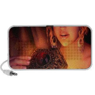 Caja abstracta de la magia de Pandorras de la fant iPod Altavoz