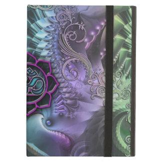 Caja abstracta del aire del iPad de Lotus OM de la