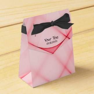 Caja abstracta del favor de fiesta del ritmo de la cajas para regalos de boda