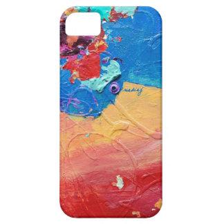 Caja abstracta del teléfono de los colores iPhone 5 Case-Mate fundas