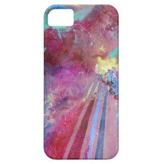 Caja abstracta del teléfono de los rayos iPhone 5 Case-Mate fundas