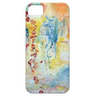 Caja abstracta del teléfono de los rosas iPhone 5 Case-Mate protectores