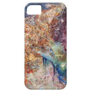 Caja abstracta del teléfono del alma iPhone 5 Case-Mate cárcasa