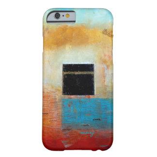 Caja abstracta del teléfono del arte de Ka'aba Funda Barely There iPhone 6