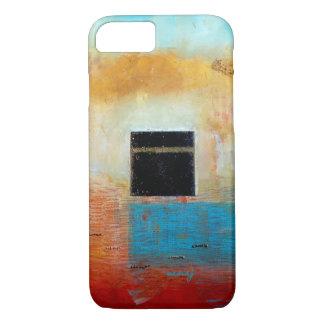 Caja abstracta del teléfono del arte de Ka'aba Funda iPhone 7