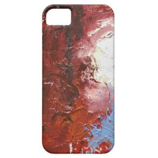 Caja abstracta del teléfono del borrado iPhone 5 Case-Mate coberturas