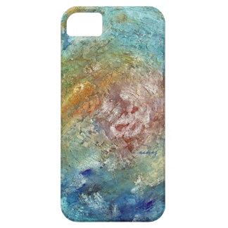 Caja abstracta del teléfono del océano iPhone 5 Case-Mate cárcasas