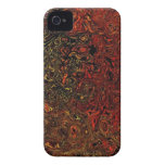 Caja abstracta del teléfono iPhone 4 carcasas