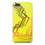 Caja abstracta extranjera amarilla del iPhone iPhone 5 Carcasa