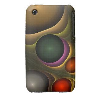 Caja abstracta fresca de la casamata del iPhone 3 iPhone 3 Case-Mate Cárcasa