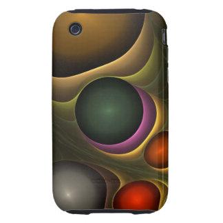 Caja abstracta fresca de la casamata del iPhone 3 Tough iPhone 3 Cobertura